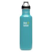 Klean Kanteen Reef Blue 800ml Water Bottle w/ Loop Cap
