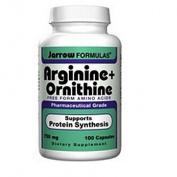 Jarrow Formulas Arginine + Ornithine