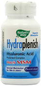 Nature's Way Hydraplenish Hyaluronic Acid Plus MSM 60 VCaps