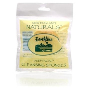 New England Naturals Earthline Deep Facial Cosmetic Sponge Model No. 108 - Nautral SeaSilk