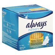 Always Infinity with Flex Foam Flexi-Wings®, Regular Flow, 18 Count