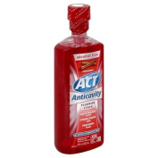 ACT Anticavity Alcohol Free Fluoride Mouthwash, Cinnamon, 530ml