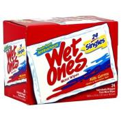 Wet Ones Hand Wipes, Antibacterial, Singles, Fresh Scent, 24 Ct.