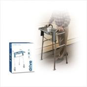 """Drive Folding Walker Tray- Grey, 40.6cm """"W x 30.5cm """"D, Each"""