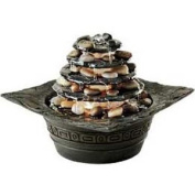 HoMedics EnviraScape  Illuminated Relaxation Fountain, Natural Pagoda 1 ea