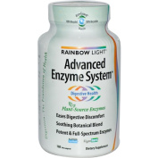 Rainbow Light Advanced Enzyme System 180 Veg. Capsules