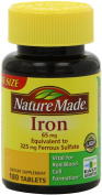 Nature Made Iron Dietary Supplement - 180 Tablets