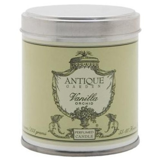 Antique Garden Vanilla Orchid Perfumed Candle