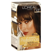 Superior Preference Fade-Defying Color NO. 5A Medium Ash Brown - Cooler by LOreal for Unisex - 1 Application Hair Color