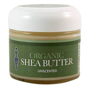 Brigit True Organics Shea Butter, Unscented, 50ml