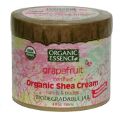 Organic Essence Organic Shea Cream, Grapefruit, 120ml