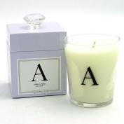 Archipelago Monogram - A (Azalea & Violet) Candle