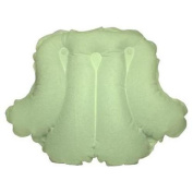 Spa Sister Luxury Inflatable Terrry Bath Pillow Celery