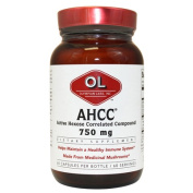 Olympian Labs AHCC 750mg 60 capsules