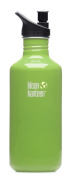 Klean Kanteen Be Green 1180ml Water Bottle w/ Sport Cap 2.0