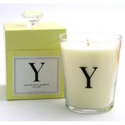 Archipelago Monogram - Y (Yucca Blossom & Grapefruit) Candle