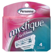 Mystique Cartridge Refill, For Women, 4 cartridges