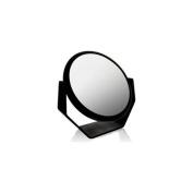 Danielle Midnight Matte Ultra Vue Round Vanity Mirror Model No. D169