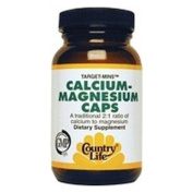 Target-Mins Calcium-Magnesium with Vitamin D Vitamin D 120 Caps by Country Life