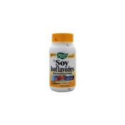 Natures Way 0524124 Soy Isoflavones With Digestive Enzymes - 100 Capsules