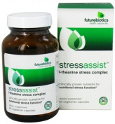 Futurebiotics Stressassist, L-Theanine Stress Complex Vegetarian Capsules 60 ea