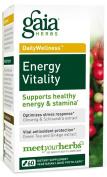 Gaia Herbs Energy Vitality 60 phytocaps