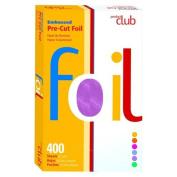 Product Club Purple Embossed Pre-Cut Foil