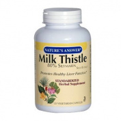 Nature's Answer Milk Thistle Seed Extract 120 vegetarian capsules