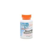 Doctors Best Resveratrol 100 Featuring Resvinol-25, 60Vc