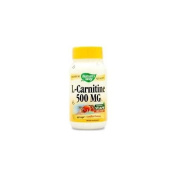 L-carnitine 60 Vegicaps by Natures Way