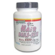 Hair Nails and Skin 3 mg Time Released 45 tabs