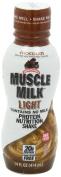 Muscle Milk Light RTD Chocolate 12 bttls