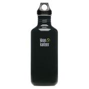 Klean Kanteen Black Eclipse 1180ml Water Bottle w/ Loop Cap