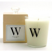 Archipelago Monogram - W (Wisteria & Hyacinth) Candle
