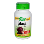 Nature's Way Maca Root, 525 mg., 100 Capsules