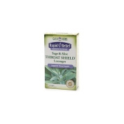 Gaia Herbs Rapid Relief Sage & Aloe Throat Shield Lozenges 20 lozenges