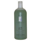 Sensories Purify Cucurbita & Tea Tree Oil Shampoo by Rusk for Unisex - 33.8 oz Shampoo