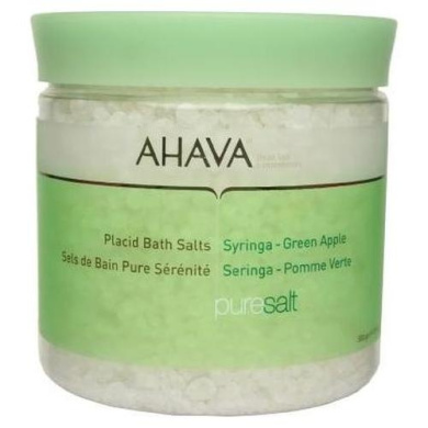 Ahava Placid Bath Salt - Syringa Green Apple - 500g-17.5oz