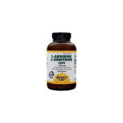 L-Arginine + L-Ornithine with B-6 1000 MG 180 Caps by Country Life