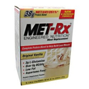 Met-Rx Meal Replacement, Powder, Original Vanilla 18 packets
