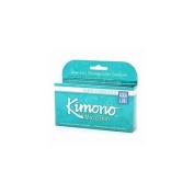Kimono Lubricated Latex Condoms, MicroThin Ultra with Aqua Lube 12 ea