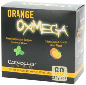 ControlledLabs CONTGREN0060CP Orange OxiMega Fish & Greens Formulas 1 kit