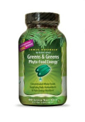 Irwin Naturals Greens & Greens Phyto-Food Energy 60 liquid softgels