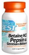 Betaine HCI Pepsin & Gentian Bitters