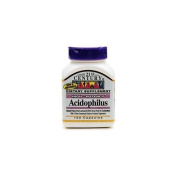 21st Century Acidophilus, High-Potency 100 capsules
