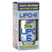 Nutrex Research LIPO 6 Accelerated Fat-Loss Formula, Ephedra-Free 120 ea