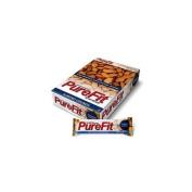 Vegan Nutrition Bar Gluten free- Almond Crunch-Box PureFit 15 Bars 1 Box