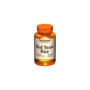 Sundown Naturals Red Yeast Rice, 600mg, Capsules 60 ea