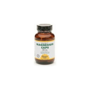Country Life Magnesium Caps with Silica, 300mg, Vegetarian Capsules 60 ea
