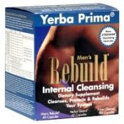 Yerba Prima Men's Rebuild Internal Cleansing System 1 kit